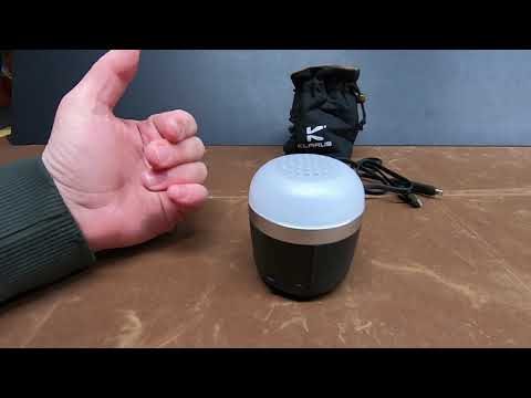 Klarus CL1 Review - All-in-One: Lantern, speaker, and battery bank