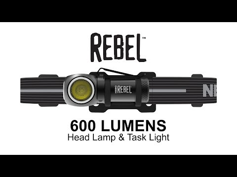 Rebel - Rechargeable Head Lamp and Task Light