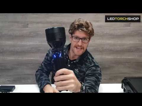 Olight X9R Marauder, unboxing the massive 25,000 lumen torch