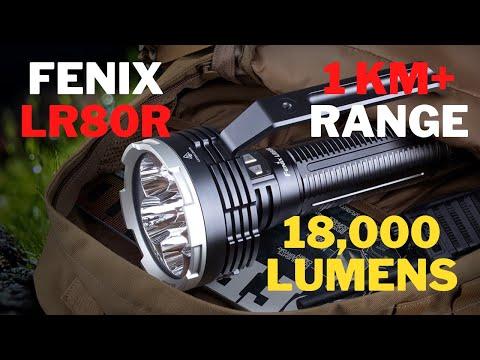 18,000 LUMEN SEARCHLIGHT! | Fenix LR80R