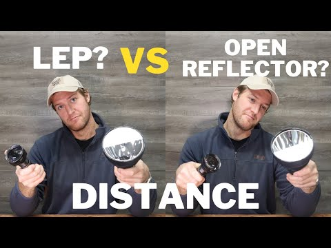 LEP vs OPEN REFLECTOR for DISTANCE
