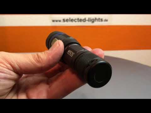 Niteye C8 Pro Outdoor Taschenlampe 1200 Lumen