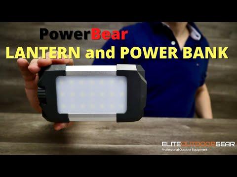 Power Bear Multifunctional LANTERN and POWER BANK