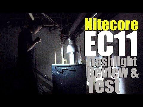 Nitecore EC11 LED Flashlight Review- My Smallest and Brightest EDC Yet