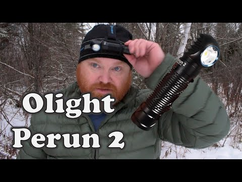 Review of the Olight Perun 2 Flashlight and Headlamp