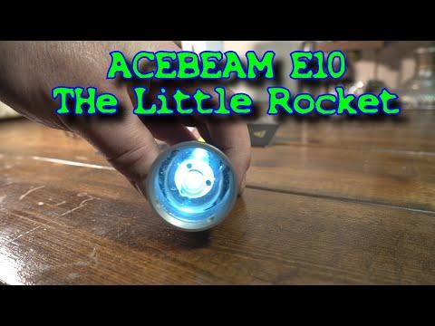 Acebeam E10 Flashlight The Tiny Thrower