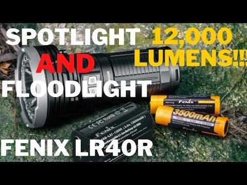 12,000 LUMENS!!! All in One SPOTLIGHT and FLOODLIGHT | Fenix LR40R