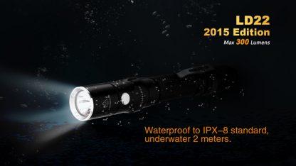 Fenix LD22 (300 ANSI Lumens AA Battery)-10349