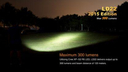 Fenix LD22 (300 ANSI Lumens AA Battery)-10348