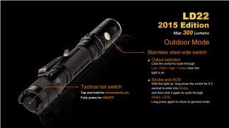 Fenix LD22 (300 ANSI Lumens AA Battery)-10342