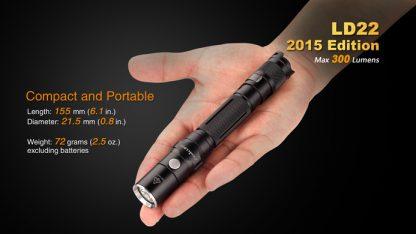 Fenix LD22 (300 ANSI Lumens AA Battery)-10344