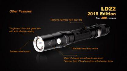 Fenix LD22 (300 ANSI Lumens AA Battery)-10353
