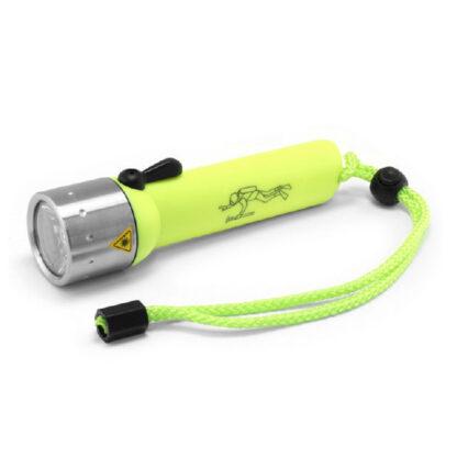 Led Lenser D14.2 Neon Diving Torch (4x AA Battery) - 400 Lumen-0