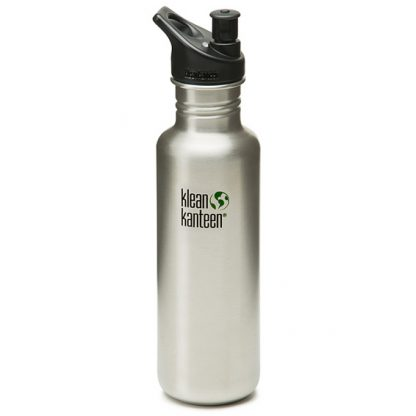 Klean Kanteen 27oz 800ml Classic (Stainless Steel) with Sports Cap 3.0-0