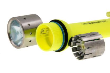 Led Lenser D14.2 Neon Diving Torch (4x AA Battery) - 400 Lumen-5869