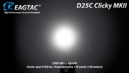EagleTac D25C MK II Clicky CREE XM-L2 LED Pocket Torch (800 Lumens)-19750