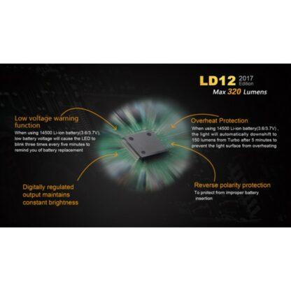 Fenix LD12 (320 lumens AA battery)-12311