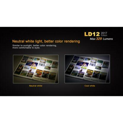 Fenix LD12 (320 lumens AA battery)-12310