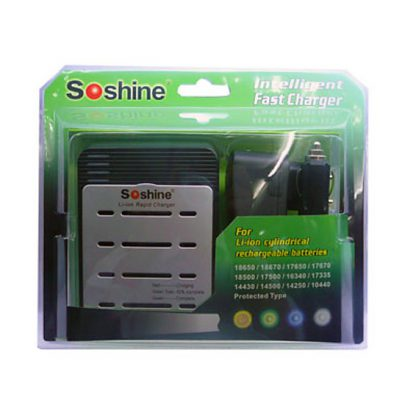 Soshine SC-S1 Mix Battery Charger-0