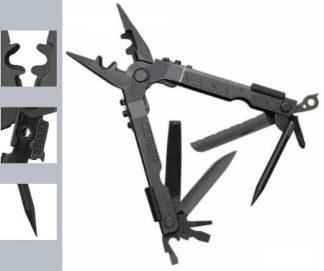 Gerber Multi-Plier 600 DET Black, w/Pouch-5856