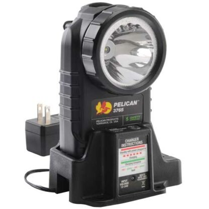 Pelican 3765 LED Rechargeable Flashlight Certified Class 1 Div 1 / IECEx ia Approved-6043