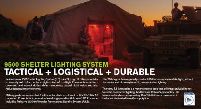 Pelican 9500 Shelter Lighting System-6104