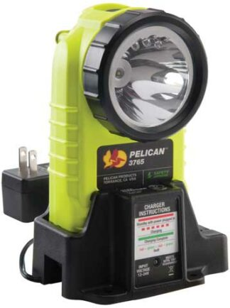 Pelican 3765 LED Rechargeable Flashlight Certified Class 1 Div 1 / IECEx ia Approved-0