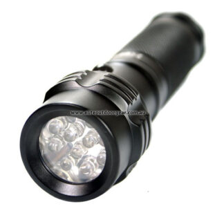 Hugsby White/Green/Red Signal Flashlight (3xAAA) -0