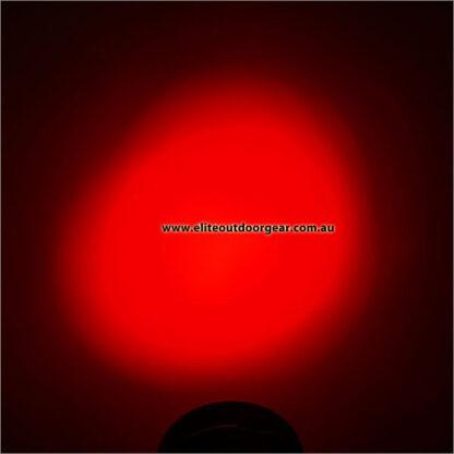 Hugsby White/Green/Red Signal Flashlight (3xAAA) -6023