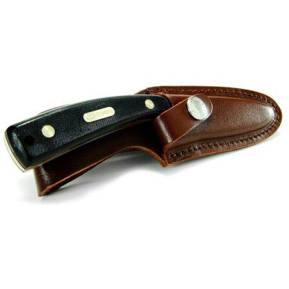 Schrade Guthook Skinner w/Leather Pouch-6339