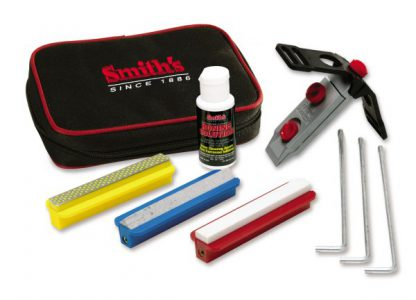 Smith's Diamond Precision Sharpening System - 3 Stones-0