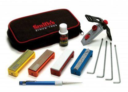 Smith's Deluxe Diamond Precision Sharpening System - 4 Stones-0