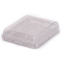 2 x CR123A or 16340 Plastic Battery Case-0