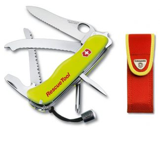 Victorinox RescueTool One Hand Swiss Army Tool with Pouch-0