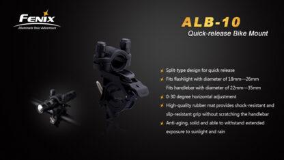 Fenix ALB-10 Bike Mount-7850