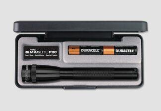 Mini MagLite 2AA Pro LED Flashlight - Black (332 Lumens)-0