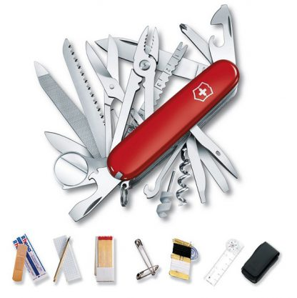 Victorinox Swiss Champ Deluxe Survival SOS Set Pocket Tool-0