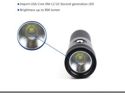 Hi-Max X11 Rechargeable Dive Torch - 800 Lumens-16835