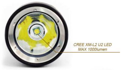 Hi-Max X5 Magnetic Diving Torch - 1000 Lumens-9680