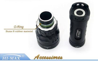 Hi-Max X5 Magnetic Diving Torch - 1000 Lumens-9679