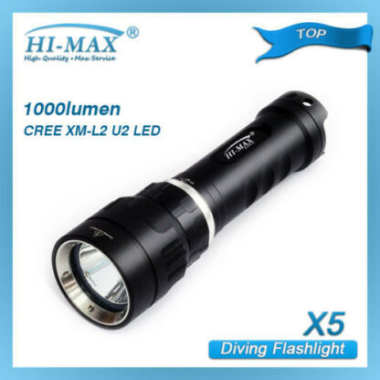 Hi-Max X5 Magnetic Diving Torch - 1000 Lumens-9676