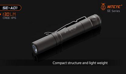 JETBeam SE-A01 EDC Pocket Flashlight - 130 Lumens-9882