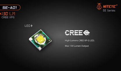 JETBeam SE-A01 EDC Pocket Flashlight - 130 Lumens-9893