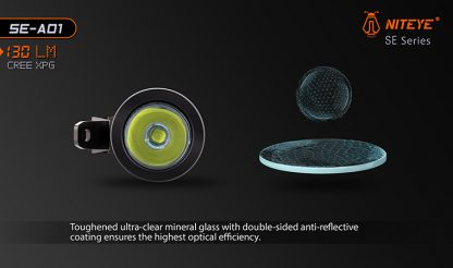 JETBeam SE-A01 EDC Pocket Flashlight - 130 Lumens-9884