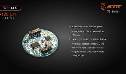 JETBeam SE-A01 EDC Pocket Flashlight - 130 Lumens-9888