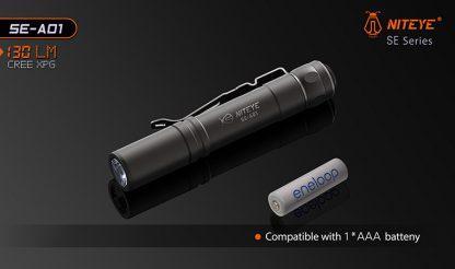 JETBeam SE-A01 EDC Pocket Flashlight - 130 Lumens-9892