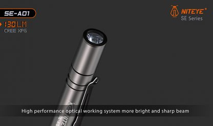 JETBeam SE-A01 EDC Pocket Flashlight - 130 Lumens-9886