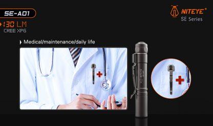 JETBeam SE-A01 EDC Pocket Flashlight - 130 Lumens-9891