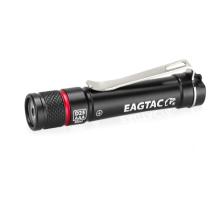 EagleTac D25AAA Mini Keychain Light - 155 Lumens-12872