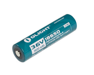 Olight 3600mAh 18650 Rechargeable Battery-Protected-0